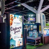 Australian Gaming Expo dynamic digital display sign image