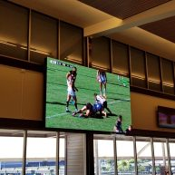 Charlestown Bowling Club LED sports screen image
