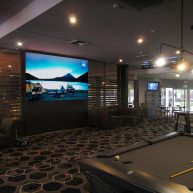 Lake Macquarie Tavern indoor sports screen image