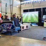 Rental LED display sports screen image