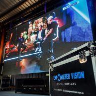 Large screen LED rental image