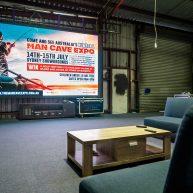 Large LED screen rental image