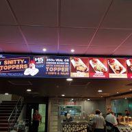 Wallsend Diggers LED brasserie digital sign image