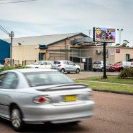 Electronic billboard image