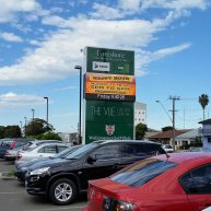 Wollongong Golf Club pylon digital sign image