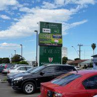 Wollongong Golf Club pylon digital sign image