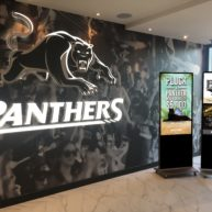 Free-standing digital display signage at Panthers Port Macquarie image